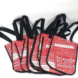 🌿 Lot of 10 Lululemon Reusable Bags